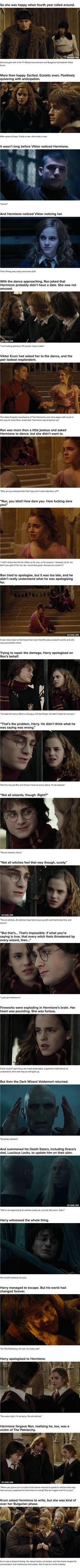 """If Hermione Were The Main Character In """"Harry Potter"""" (Part 3 Of 5)"""