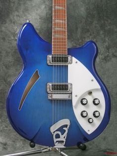 2007 Rickenbacker 360 12 String Blueburst Guitar