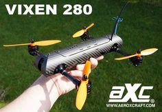 AXC Vixen 280 - FPV RACING FRAME [V280-KIT] - £99.90 : AEROXCRAFT, Technology with Altitude