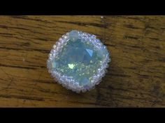 Crystal Cabochon Component - YouTube