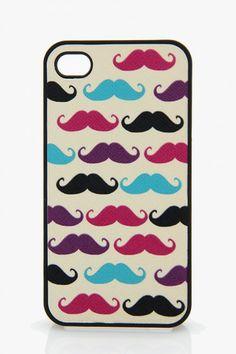 I PHONE 4 Mustache Case
