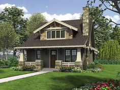 Craftsman style single story house plans - We know them as bungalow craftsmen, California, Chicago, or Michigan bungalows, Art and Crafts bungalows Craftsman Bungalow House Plans, Cottage Style House Plans, Bungalow Homes, Cottage Style Homes, Craftsman Bungalows, Craftsman Kitchen, Home Design, Design Ideas, Interior Design