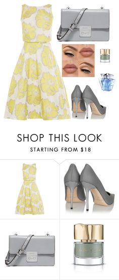 """""""Untitled #36"""" by sousou2578 on Polyvore featuring Jimmy Choo, MICHAEL Michael Kors, Smith & Cult and Thierry Mugler"""