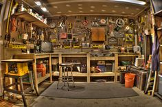 cool small garage ideas - Google Search