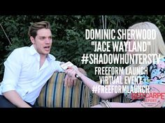 Talking to Dominic Sherwood #ShadowhuntersTV at the Freeform Launch Virt...