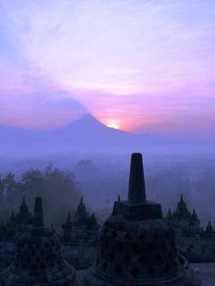 Borobudur Temple - Central Java, Indonesia