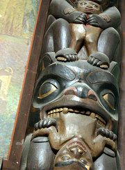 New York, US American Museum of Natural History Haida, collected c. 1880 Cathedral Grove | Totem Pole Websites