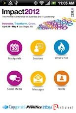 Install the IBM Impact SmartSite app for Android - manage your agenda, meetings and attendee messaging.