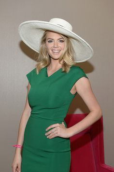 Model Kate Upton is seen around the 142nd Kentucky Derby at Churchill Downs.