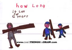 Draw and learn!  How long did the Civil War last?