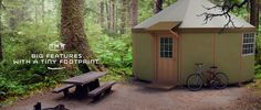 Yurt forum, an online yurt community and forum about yurts. Discuss building, buying, and living in yurts. Check out the yurts for sale! Yurt Kits, Log Cabin Kits, Yurt Living, Tiny House Living, Small Living, Tiny Houses For Sale, Little Houses, Small Prefab Homes, Tiny Homes