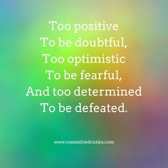 #positive #committedcuties