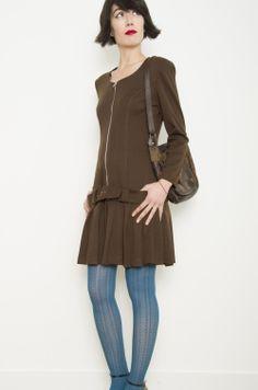 27e457bd17 Vestido Vintage 70s