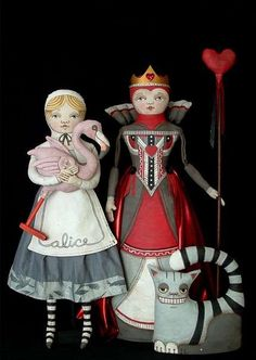 Dolls are made from many things and come in different sizes for the child that is in all of us.