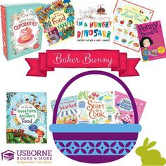 Easter Basket Ideas! Usborne Books! #EasterBasketIdeas #EasterBaskets