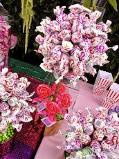 Lollipop Tree - Great Idea for a wedding reception for the kids!  Also makes a cute addition to the wedding decorations for the reception!