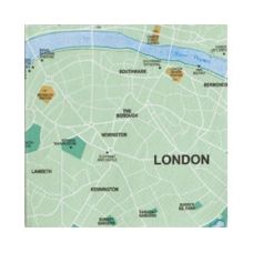 Mapkins, London $8.95 - These cute napkins are the perfect conversation starter.