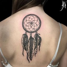 Dreamcatcher Tattoo by Nichola Pierpoint