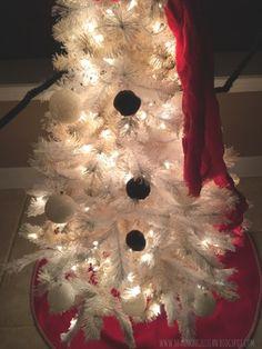 Snowman Christmas Tree | Fashionable, Fit, & Fabulous: Snowman Christmas Tree