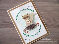 Foxy Friends and Fox Builder punch from Stampin' Up!