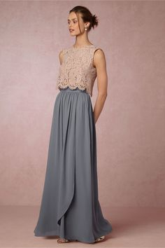 BHLDN Cleo Top & Jane Skirt in  Bridesmaids View All Dresses at BHLDN