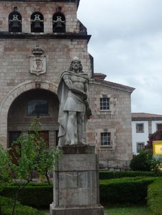 Don Pelayo. Cangas de Onís (Asturias)