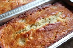 The Disney Diner: Boma: Banana Bread Recipe