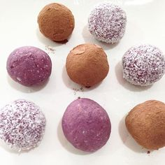 Berry bliss balls - just because!