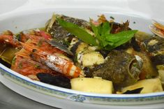 Zuppa di pesce di Castelsardo #ricettedisardegna #cucina #sarda #sardinia #recipe Italian Cooking, Italian Recipes, Goulash, Pot Roast, Stew, Seafood, Pork, Food And Drink, Fish