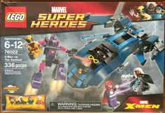 LEGO SUPER HEROES X-Men vs The Sentinel STICKER SHEET ~Replacement for Set 76022
