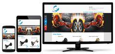 Ny #responsiv #Joomla #webside for spennende #tohjuling som er langt rimeligere enn #segway. Monitor, Electronics, Consumer Electronics