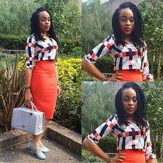 Style 2: @jaunelion Pencil Skirt