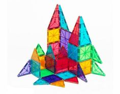 Magna-Tiles® Clear Colors 32 Piece Set | MagnaTiles®