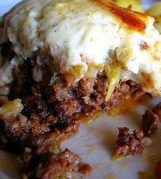 Moussaka (Greek Lasagna)....OMG....I love this stuff!!!!!!!!!