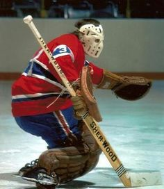 """Michel """"Bunny"""" Larocque won four straight Stanley Cups with the Montreal Canadiens from 1976 to 1979 Montreal Canadiens, Mtl Canadiens, Ice Hockey Teams, Hockey Goalie, Hockey Games, Montreal Hockey, Hockey Pictures, Nhl Highlights, Goalie Mask"""