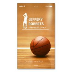 Creative Basketball Coach Basketball Trainer Double-Sided Standard Business Cards (Pack Of Teacher Business Cards, Custom Business Cards, Basketball Socks, Basketball Coach, Basketball Court Flooring, Rules For Kids, Trainers, Card Templates, Knee Injury