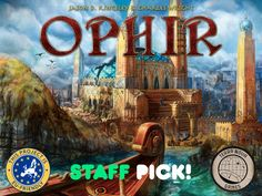 Sail the seas and master the market against rival merchants in a race to construct the Temple of the ancient world of Ophir!