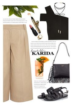 """Fratelli Karida"" by yexyka ❤ liked on Polyvore featuring Ancient Greek Sandals, Tosca Blu, TIBI, Wet n Wild, Fresca, Miss Selfridge and FratelliKarida"