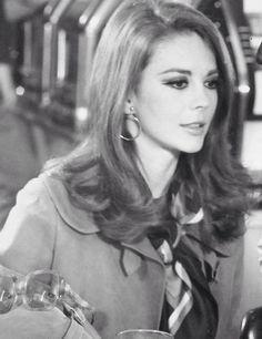 "Natalie on the set of ""Bob + Carol + Ted + Alice"" c.1969"