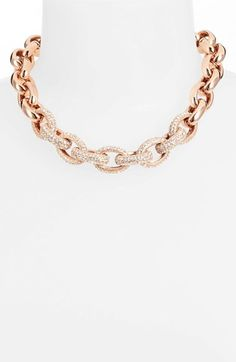 Great Gift Idea for this Holiday Season..60% OFF Nordstrom Pavé Link Collar Necklace  CHECK IT OUT!!!