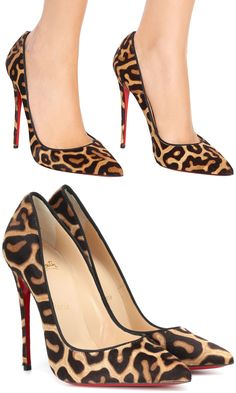 0a1f04713635 Christian Louboutin offers a masterclass in the print du jour  leopard