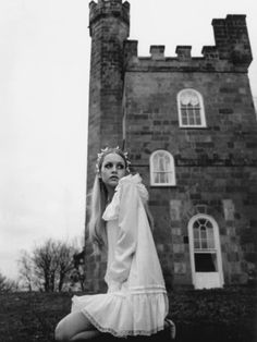 Twiggy by Justin de Villeneuve, 1968.