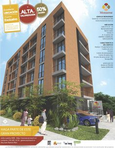 FACHADA PRINCIPAL Multi Story Building, 2nd Floor, Terrace, Apartments, Flats, Buildings, Parts Of The Mass