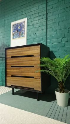 Stag 'C' Range 4 Drawer Chest Of Drawers In Walnut By John & Sylvia Reid 1950s Furniture, Walnut Finish, Design Consultant, Chest Of Drawers, Master Bedroom, Mid Century, Range, Home Decor, Master Suite