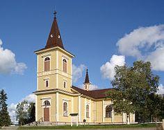Muonion kirkko elokuussa 2005.