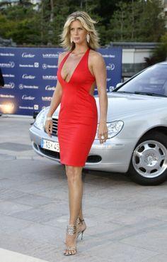 Rachel Hunter During  Laureus World Sports Awards Arrivals At Grimaldi Forum In Monte Carlo Monaco