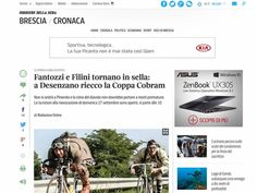 Coppa Cobram - CORRIERE.IT - Fantozzi e Filini tornano in sella a Desenzano riecco la Coppa Cobram.