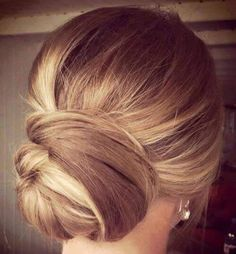 Beautiful updo for wedding or prom. See more amandamajor.com