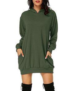 Casual Summer Dresses, Summer Dresses For Women, Sweat Shirt, Long Tunic Dress, Hoodie Dress, Long Sleeve, Sleeves, Tops, Clothes