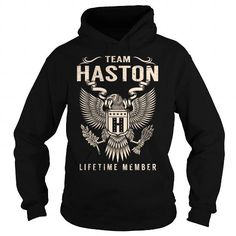 Cool Team HASTON Lifetime Member - Last Name, Surname T-Shirt T shirts